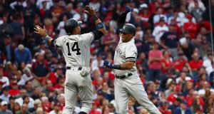 Aaron Hicks Knocks Kluber Out Of Game, Gives Yankees Three-Run Lead (Video)