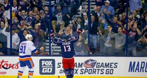 New York Islanders Fall-Flat in Season Opener, 5-0 to Columbus Blue Jackets (Highlights) 2