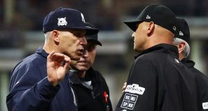 New York Yankees Game 2 Nightmare Isn't All on Joe Girardi, Umpires (Highlights)