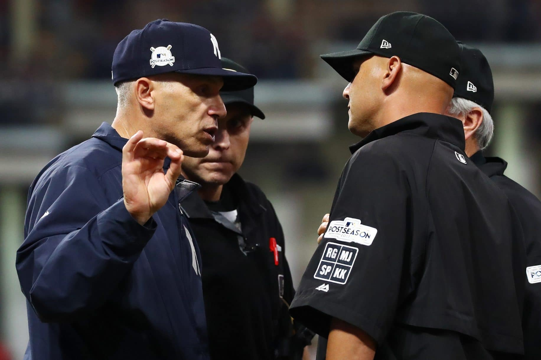 New York Yankees Game 2 Nightmare Isn't All on Joe Girardi, Umpires (Highlights)