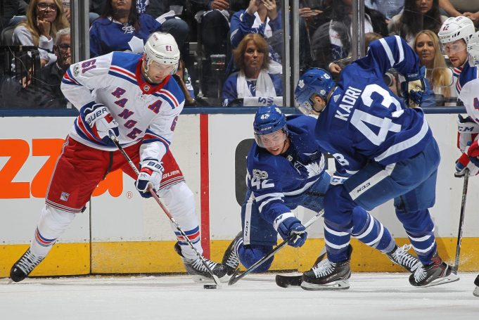 Maple Leafs' Strong Third Period Spoils Rangers' Four-Goal Comeback
