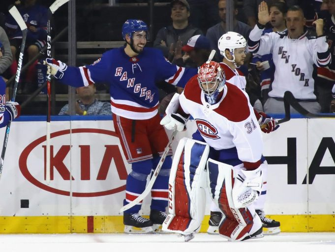 New York Rangers: Mika Zibanejad says playing after hit was a mistake