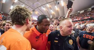 Syracuse's Dino Babers Delivers Electrifying Locker Room Speech Following Clemson Win (Video)