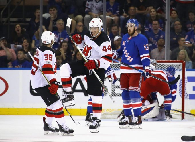 New Jersey Devils Handle the Fragile New York Rangers, 3-2 (Highlights)