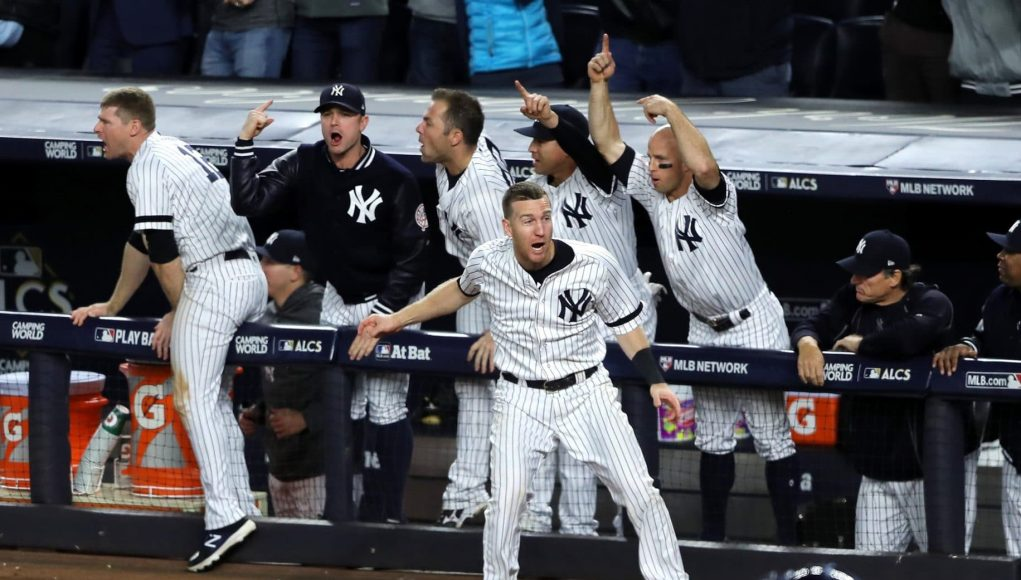 Close, but No Champagne: New York Yankees Top 2017 Postseason Moments