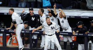 Close, but No Champagne: New York Yankees Top 2017 Postseason Moments