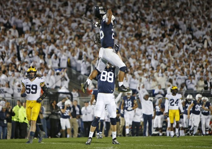 Penn State's Saquon Barkley a Man Among Kids in Win Over Michigan (Highlights)
