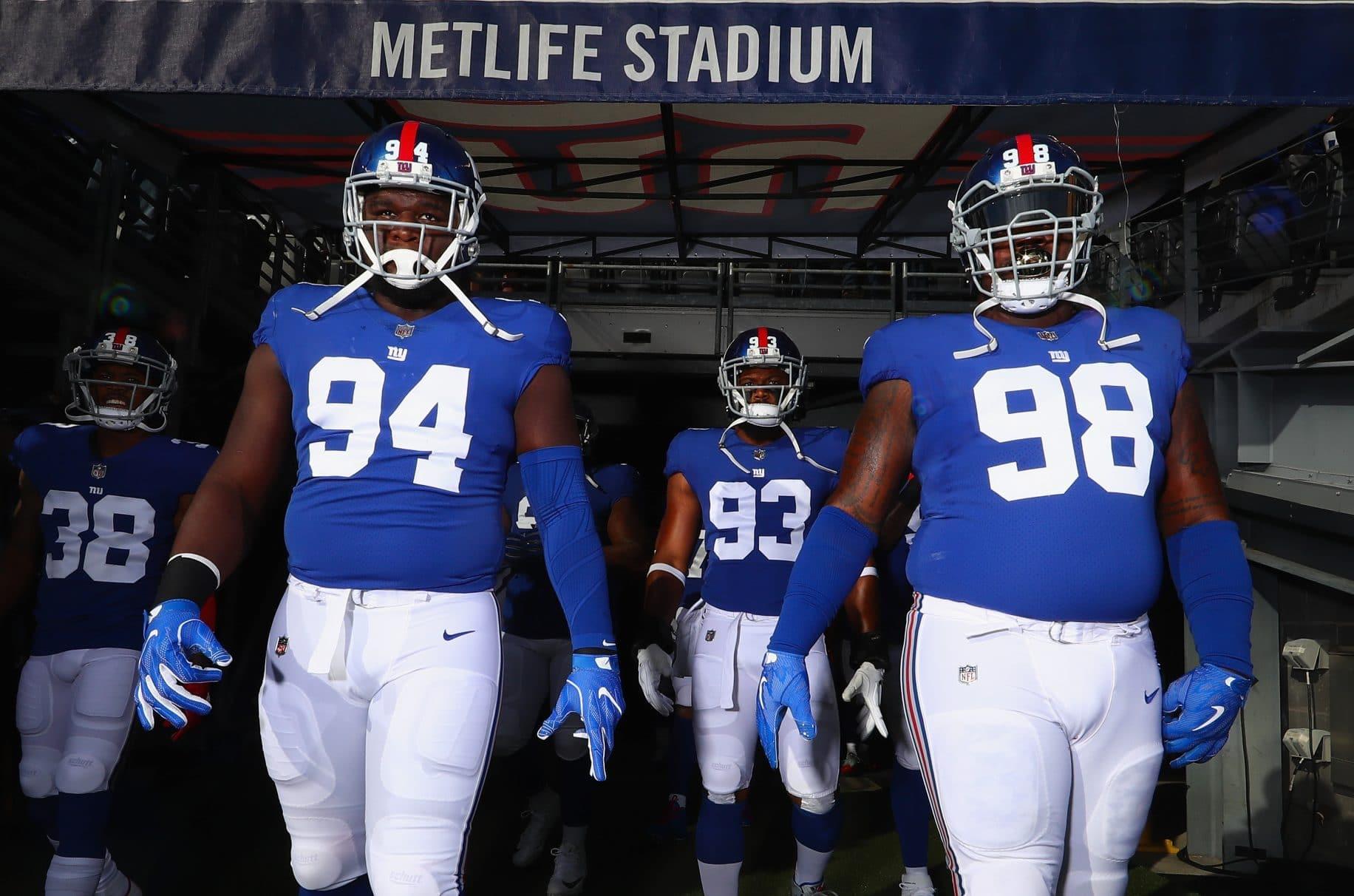 New York Giants Rookie Lineman In Awe Big Bro Damon Harrison
