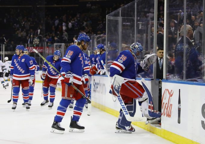 The New York Rangers Are Giving Up Too Many Early Goals 1