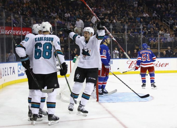 New York Rangers Eaten Alive By Sharks, Lose 4-1 At The Garden 2