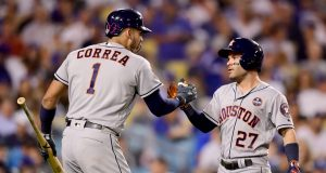 Jose Altuve & Carlos Correa go Back-to-Back in Game 2 of World Series (Video)