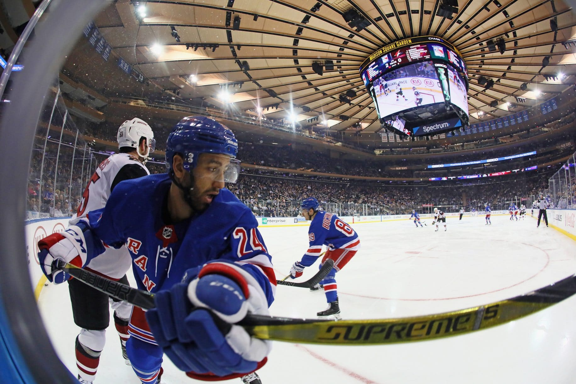 Boo Nieves New York Rangers