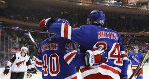 New York Rangers Spoil Derek Stepan's Homecoming, 5-2, Over Coyotes (Highlights)