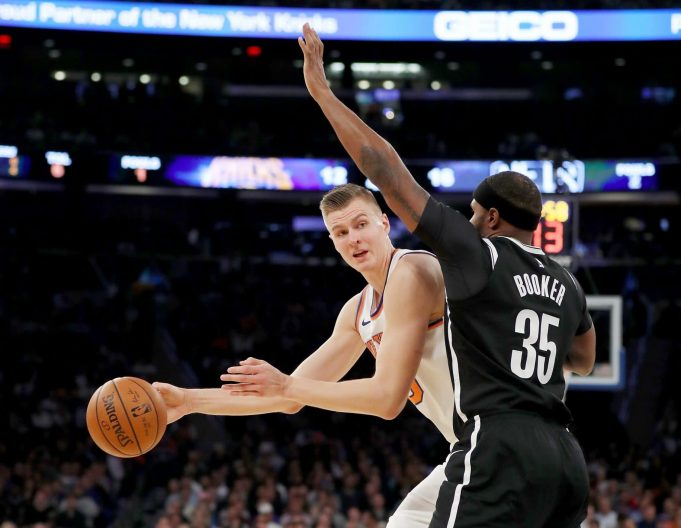 New York Knicks, Kristaps Porzingis Blow Out Nets (Highlights)