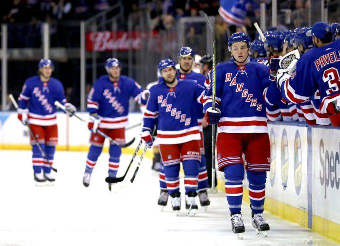 Mika Zibanejad Leads New York Rangers Comeback, 6-4, Over Vegas (Highlights)