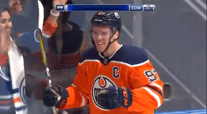Connor McDavid Opens 2017-18 Season With a Hat-Trick