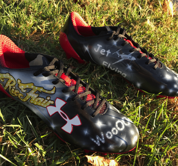Atlanta Falcons Duo Breaks Out Ric Flair Themed Cleats