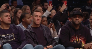 New York Yankees, Aaron Judge Take In Brooklyn Nets Game (Photo)