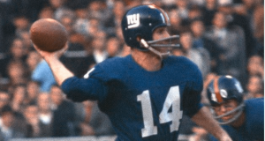 New York Giants Legend Y.A. Tittle Passes Away at 90