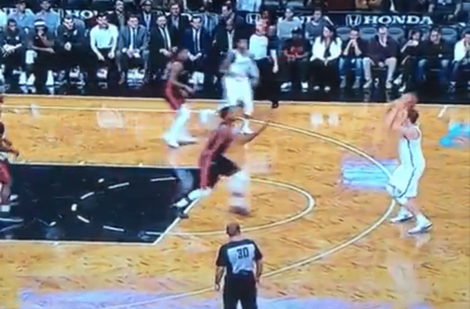 Timofey Mozgov Extends Range, Connects On Rare Three-Point Attempt (Video)