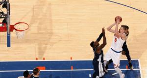 Kristaps Porzingis' 38 Points Help New York Knicks Hold Off Nuggets (Highlights)