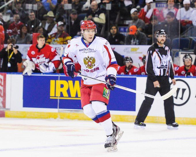 New York Rangers Loan Alexei Bereglazov to the KHL