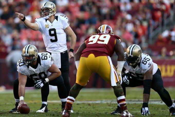 Who dat? Week 11 notes for Saints vs. Redskins