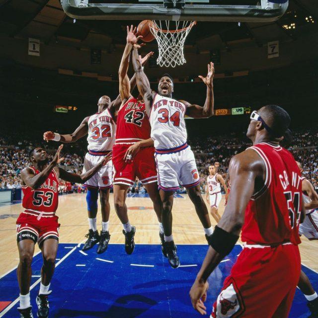 Kristaps Porzingis' New York Knicks Reimagined as Patrick Ewing's 1994 Squad 2