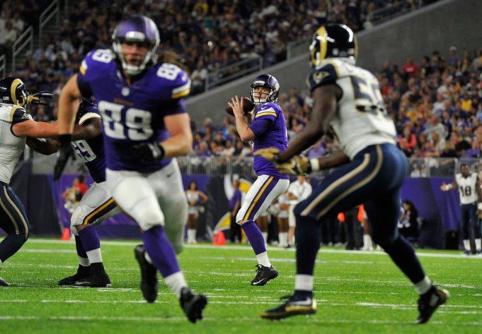 Ramming speed: Vikings battle Los Angeles in Week 11