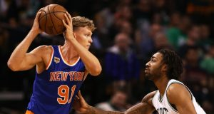 New York Knicks: Why Mindaugus Kuzminkas Should Be Released When Joakim Noah Returns