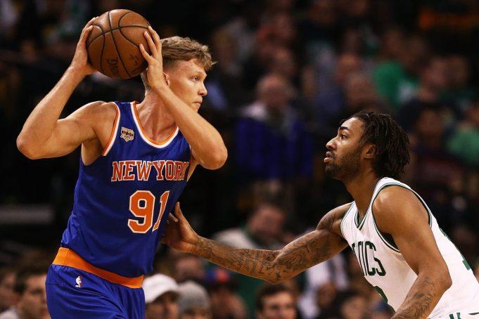 New York Knicks: Why Mindaugus Kuzminkas Should Be Released When Joakim Noah Returns