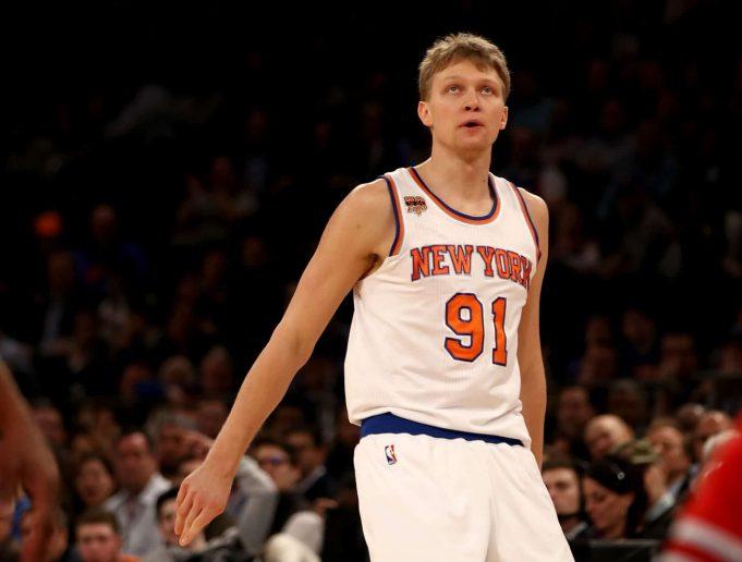 New York Knicks News Mix, 11/5/17: Mindaugas Kuzminskas Not Happy