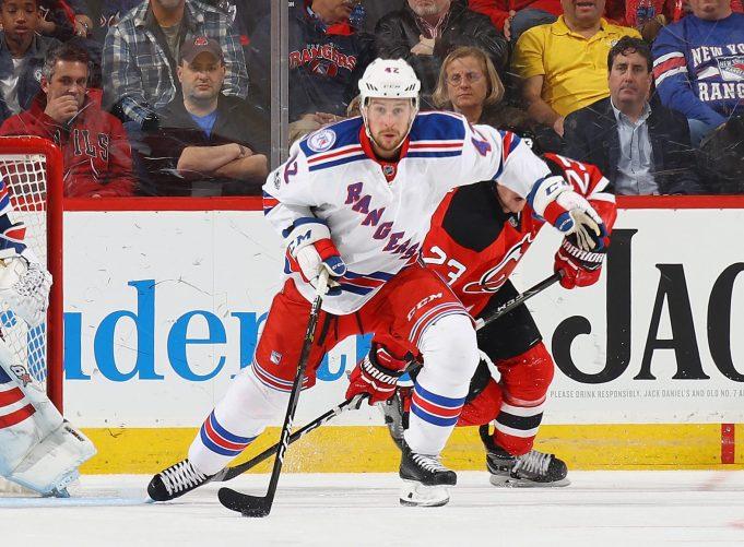 Brendan Smith New York Rangers