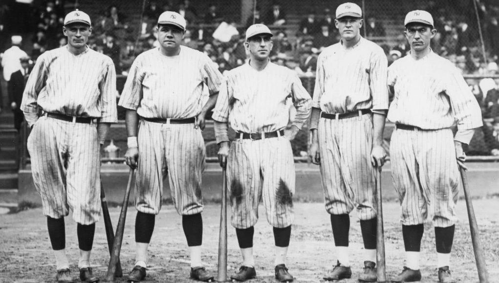 Babe Ruth Murderers Row 1921