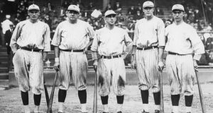 Babe Ruth Murderers Row 1921
