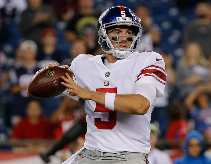 Davis Webb New York Giants
