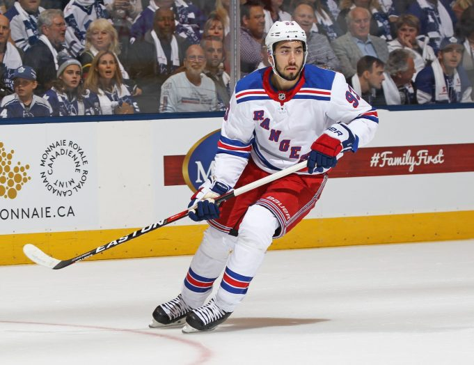 New York Rangers Report 12/15/17: Still No Mika Zibanejad