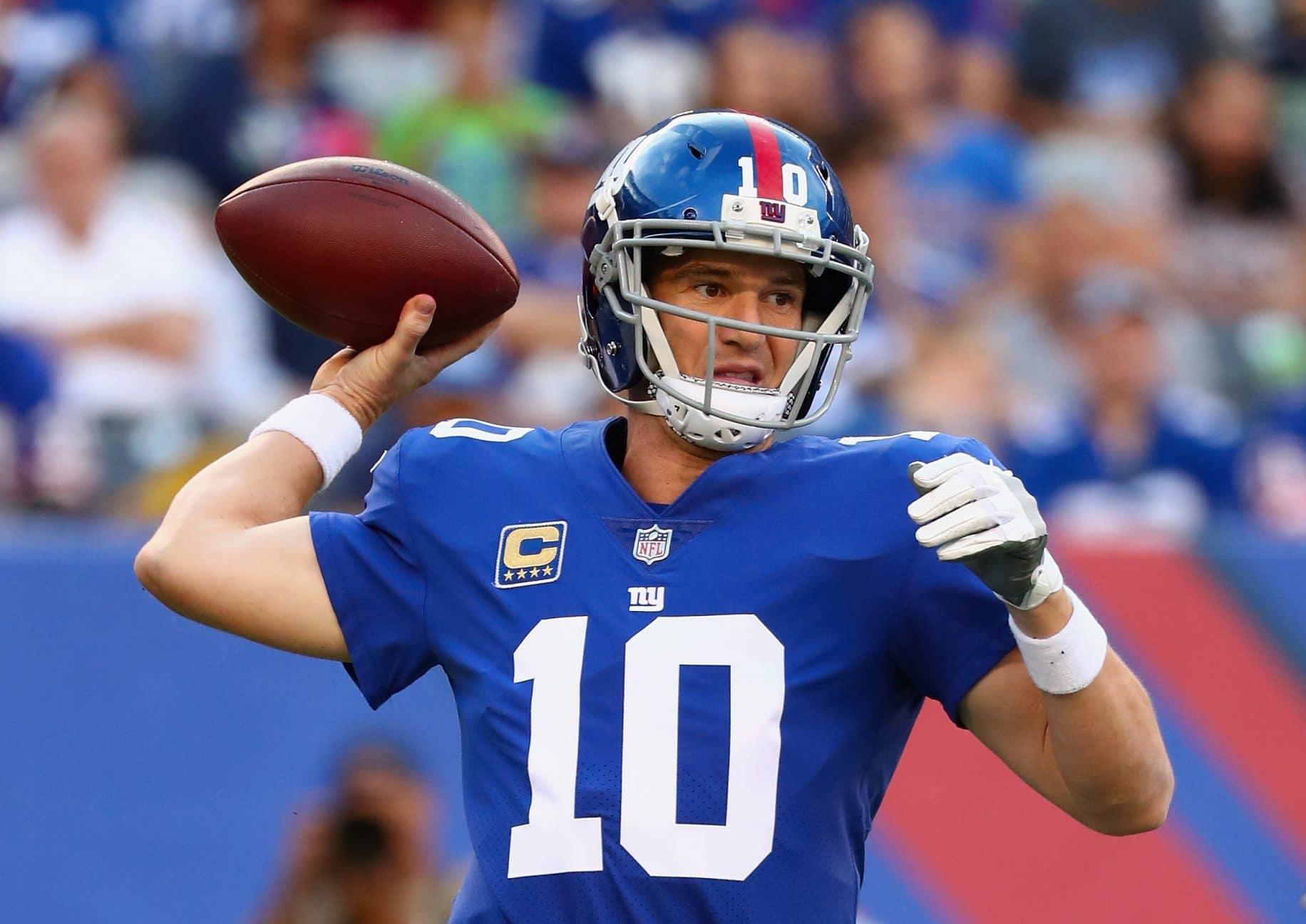 Eli Manning, New York Giants, NFL