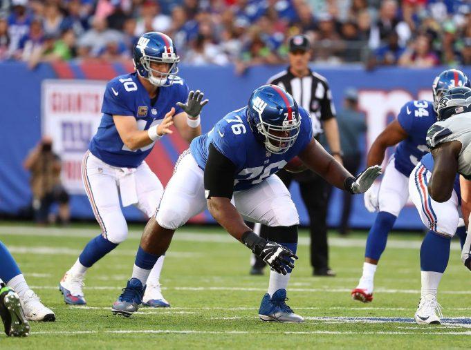 D.J. Fluker New York Giants