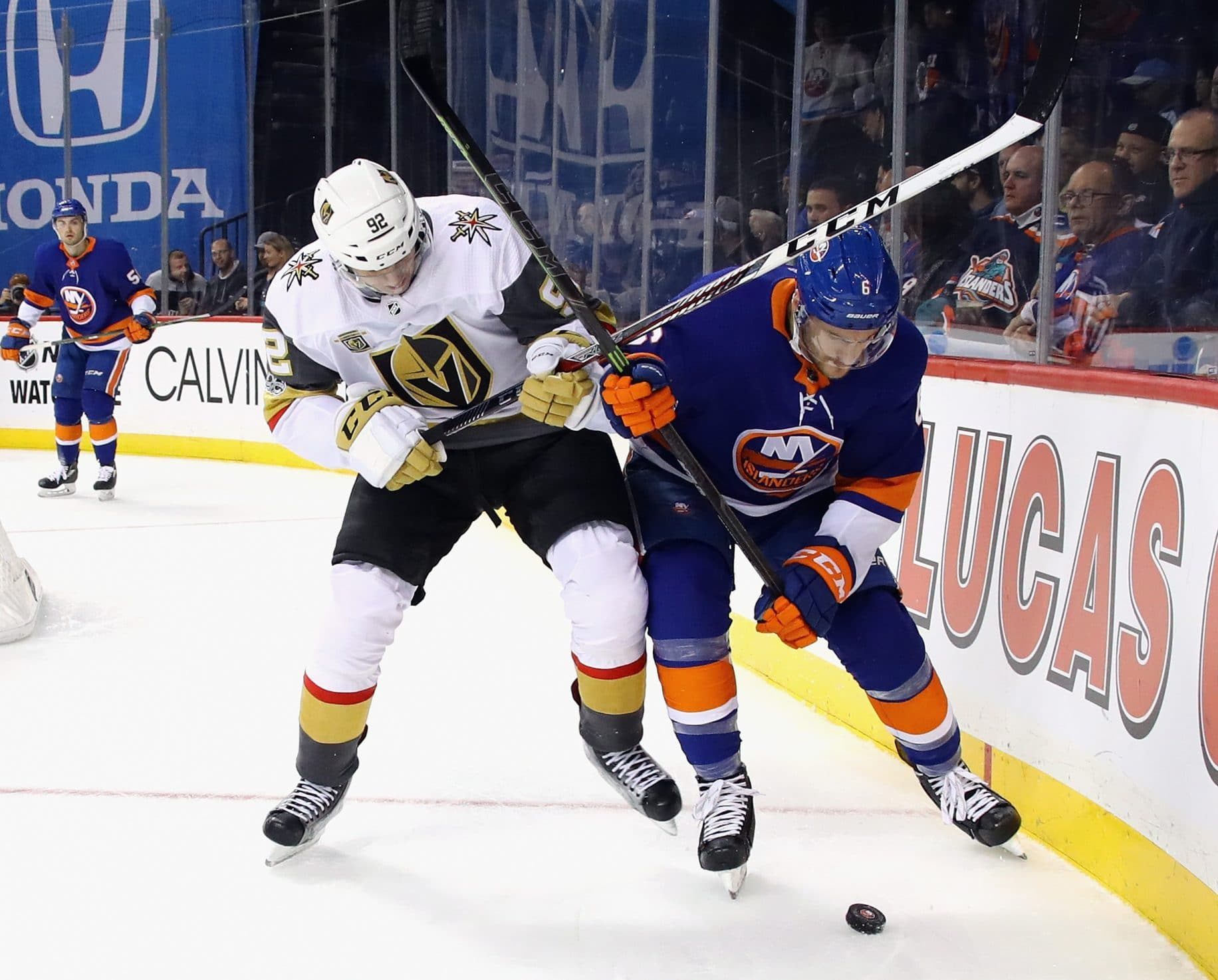 The New York Islanders Ongoing Defensive Contest 1