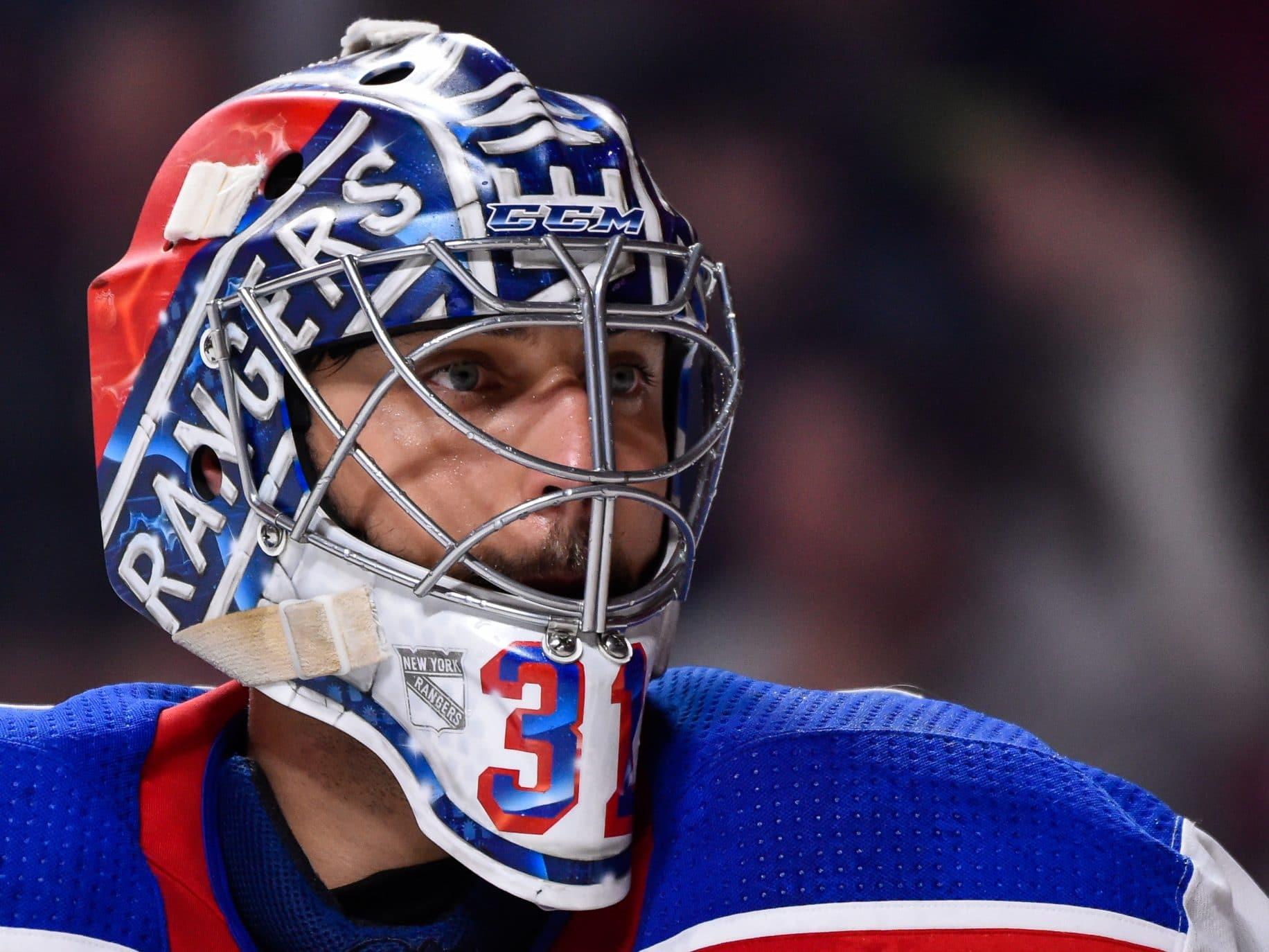 Ondrej Pavelec New York Rangers