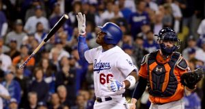 Yasiel Puig's Home Robbed During World Series Loss (Report)