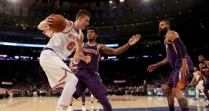 New York Knicks Blow Out Suns Behind Another 30-Point Game From Kristaps Porzingis