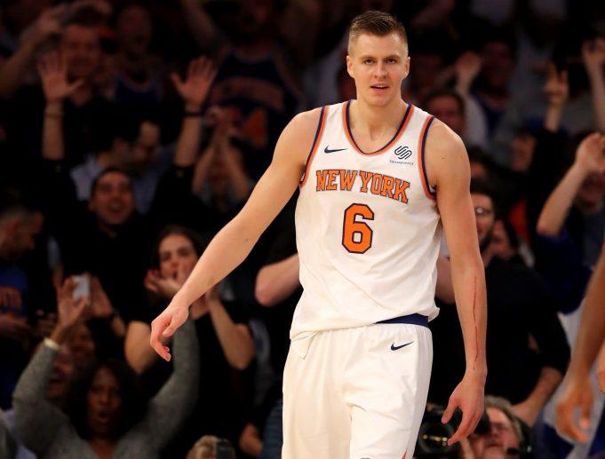New York Knicks: Phil Jackson's Doubts Motivated Kristaps Porzingis