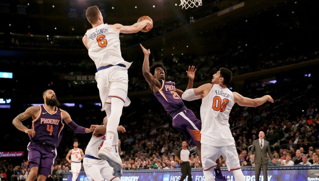 Kristaps Porzingis, Enes Kanter Combo Propelling Knicks' Offense 3