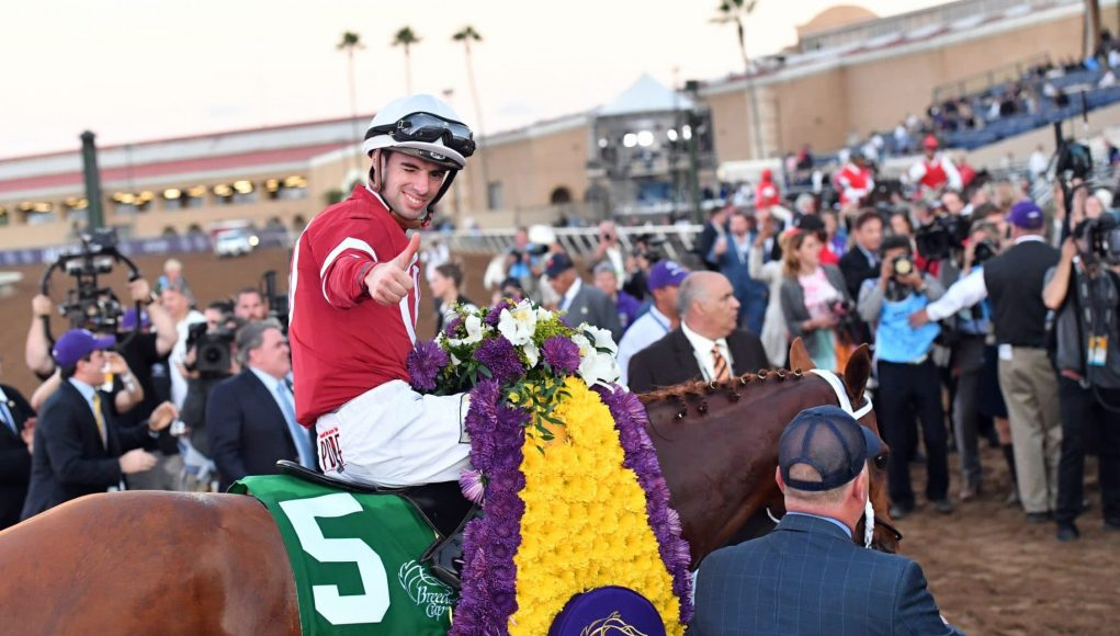 Gun Runner Captures the 2017 Breeders' Cup Classic in Superb Fashion 2