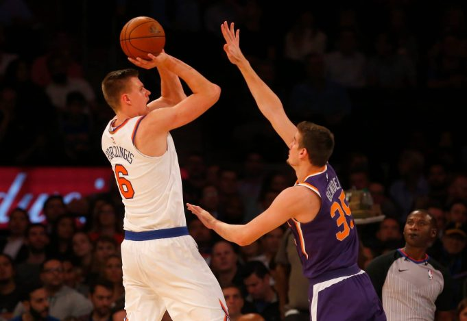Kristaps Porzingis Named NBA Eastern Conference Player of the Week 2