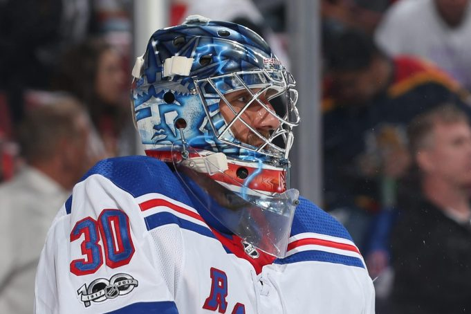 It's All In The Mask: Rangers' Henrik Lundqvist Undefeated In New Gear 2