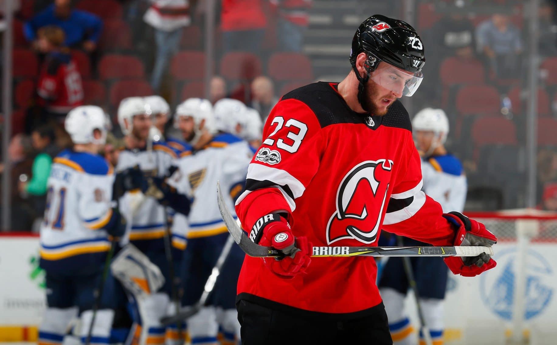 Stefan Noesen New Jersey Devils