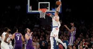 New York Knicks' Kristaps Porzingis Scores 34 Points In Blowout Win vs. Kings (Highlights)